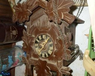 Black Forest CooCoo Clock