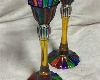 Murano Glass Candle Holders