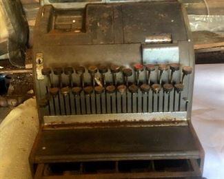 Vintage candy store cash register