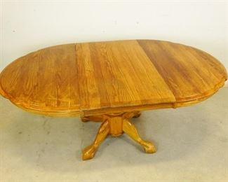 Dining Room Table with Leaf Extension