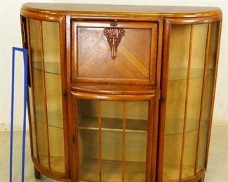 Antique Secretarial Cabinet
