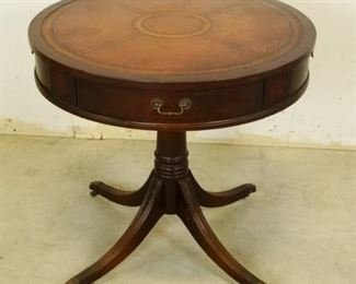 Vintage Barrel Table