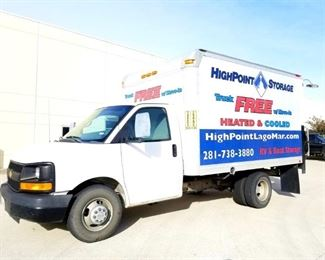 2012 Chevy 3500 Cargo Van with Tommylift