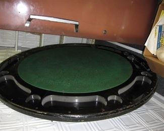 Poker/Game Table with Attached legs
