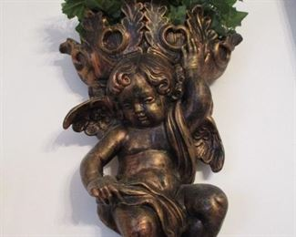 cherub wall decoration