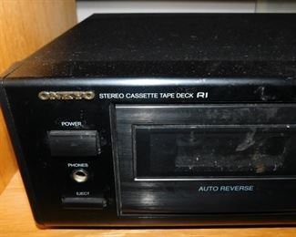 Onkyo cassette tape deck