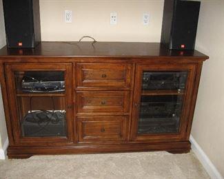 Entertainment Center/Console,  Electronics, Speakers...