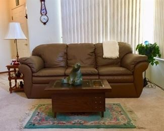 LaZBoy leather sofa
