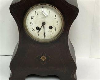 LAN582: Skinner London Wood Case Mantel Clock Local Pickup  https://www.ebay.com/itm/113923143806