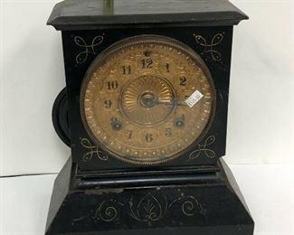 LAN583: Ansonia Mantel / Shelf Clock Metal Case Local Pickup  https://www.ebay.com/itm/113923125853