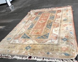 """LAN739: Antique Middle Eastern Area Rug Hand Knotted and numbered 12' X 97""""  https://www.ebay.com/itm/113989607646"""