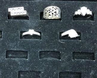 LAN747: Sterling Silver Rings $35 each or 4 for $100   - Only available offline at office