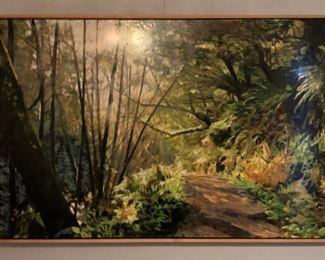 ML3005: Conner McManus Art Point Reyes Trail 40″ X60″ Giclee and Acrylic on Birch  https://www.ebay.com/itm/113966017253