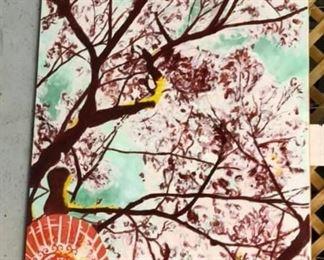 ML3008: Conner McManus Art Celebration Branches 40″ x 60″ Acrylic on Canvas 201  https://www.ebay.com/itm/113966017250