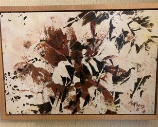 "ML3028: Conner McManus Art Small Cones 12""X18"" Giclee and Acrylic on Birch Panel  https://www.ebay.com/itm/123974619226"