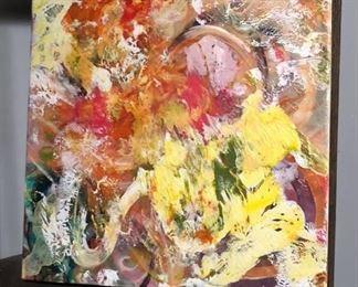 ML3037: Conner McManus Art: mixed media on canvas Local Pickup  https://www.ebay.com/itm/113966071530