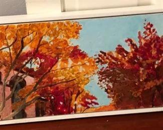 ML3047: Conner McManus Art: November Providence Acrylic on Canvas Local Pickup  https://www.ebay.com/itm/113966074645