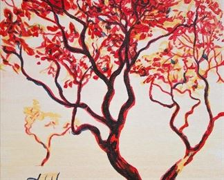 ML3025: Conner McManus Art The Watcher 36″x24″ Acrylic on canvas 2017  https://www.ebay.com/itm/123974619216