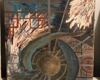 "ML3079: Conner McManus Aruban Cave Photograph and resin on wood panel 24""X36""  https://www.ebay.com/itm/123974951136"