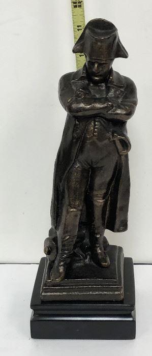 "SM046: 11"" Bronze Napoleon Sculpture Statue On Marble Base Local Pickup  https://www.ebay.com/itm/123938269001"