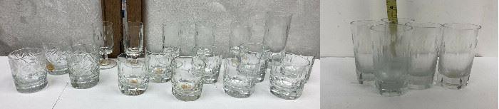 SM047: 22 Pieces of Bohemia Cristal Glasses   https://www.ebay.com/itm/123938308954
