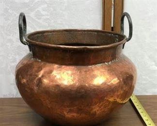 SM3004: XXL Copper POt With Handles Local Pickup  https://www.ebay.com/itm/123965156259
