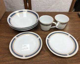 SM2009: Noritake Japan Blue Dawn China 6611 Lot of 7 Bowls, Plates & Cups  https://www.ebay.com/itm/113945908882