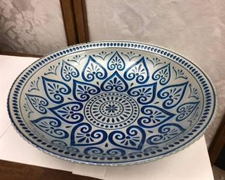 SM3011: KP Valera Bowl White and Blue $24  -   - Only available offline at office