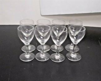 SM6002 LOT OF 8 BACCART SMALL CRYSTAL SHOT GOBLETS MADE IN FRANCE  https://www.ebay.com/itm/123969702923