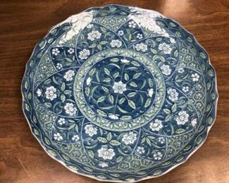 """SM3016: 11"""" Serving Plater China $10   - Only available offline at office"""