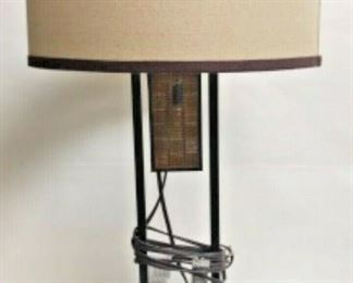 SP1568: PAIR OF GLASS MOSAIC LAMPS WITH SHADES  https://www.ebay.com/itm/113981255239