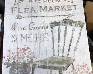 SP1573: Artwork - Flea Market  - Only available offline at office