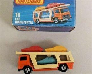 WY0275 MATCHBOX DIE CAST VEHICLE SUPERFAST #11 CAR TRANSPORTER IN BOX MADE   https://www.ebay.com/itm/113928000935