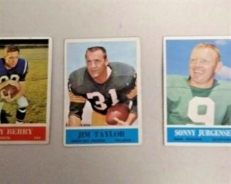 WY0360 LOT OF 3 1964 PHILADELPHIA FOOTBALL CARDS #1, 80, 186.  https://www.ebay.com/itm/123969702920