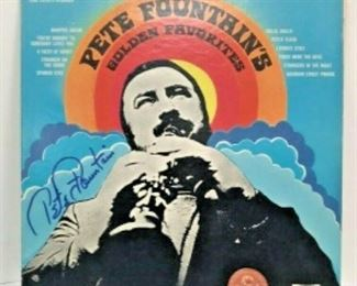 WY3011: PETE FOUNTAIN GOLDEN FAVORITES LP SIGNED WITH DOUBLOON  https://www.ebay.com/itm/123952007900