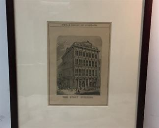 RM1272: Jewell's Crescent City Illustrated The Story Build Framed Artwork   https://www.ebay.com/itm/12391847012