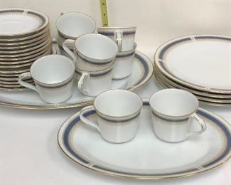 SM043: 58 Pieces of Noritake Blue Dawn Fine China Dinnerware Local Pickup  https://www.ebay.com/itm/113922586156