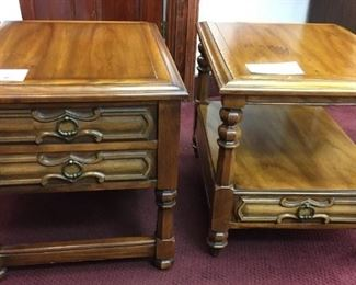 Hammarity Furniture (sold at Lammert's) end tables