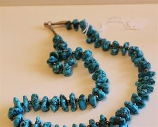 Navajo Turquoise Strand Necklace