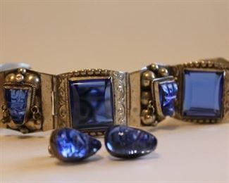 Taxco™ Sterling Bracelet and Earring Set