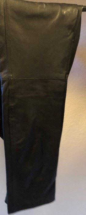 Ladies Leather Slacks