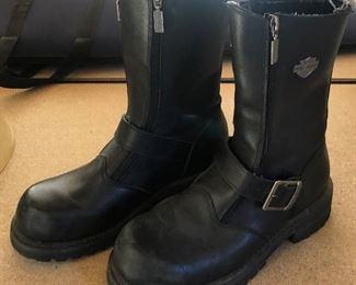 Ladies Harley Davidson Leather Boots