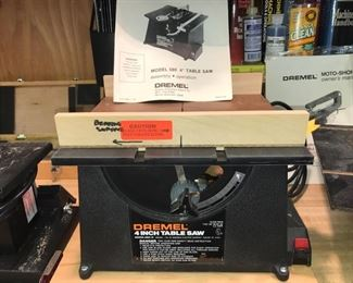 "Dremel 4"" table saw"