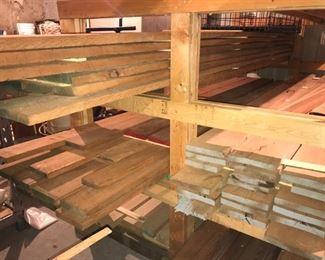 lumber live edge & rough sawn