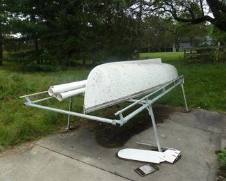 sail boat / roof rack