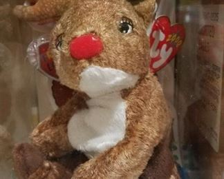Ty Reindeer Beany Baby