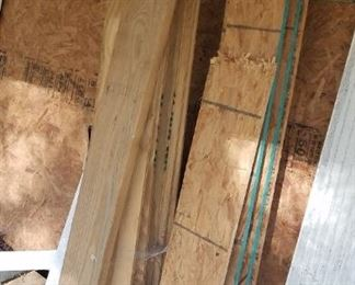 Miscellaneous wood, etc.