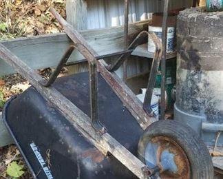 Wheelbarrow from outbuilding 3