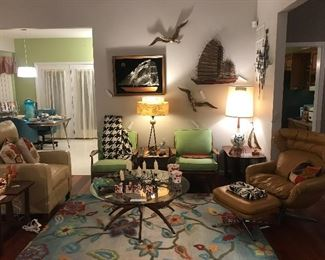 South County Home Filled With Vintage Mid Century Items