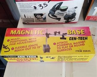 Magnetic base